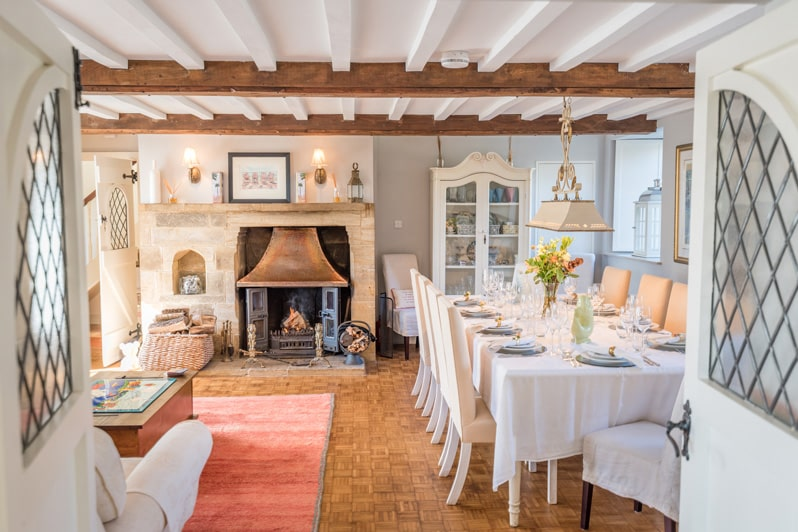 Living Rooms at Glenacres - Luxury Holiday Cottage in Seatown, Dorset