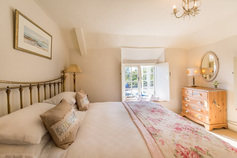 Bedrooms at Glenacres - Luxury Holiday Cottage in Seatown, Dorset