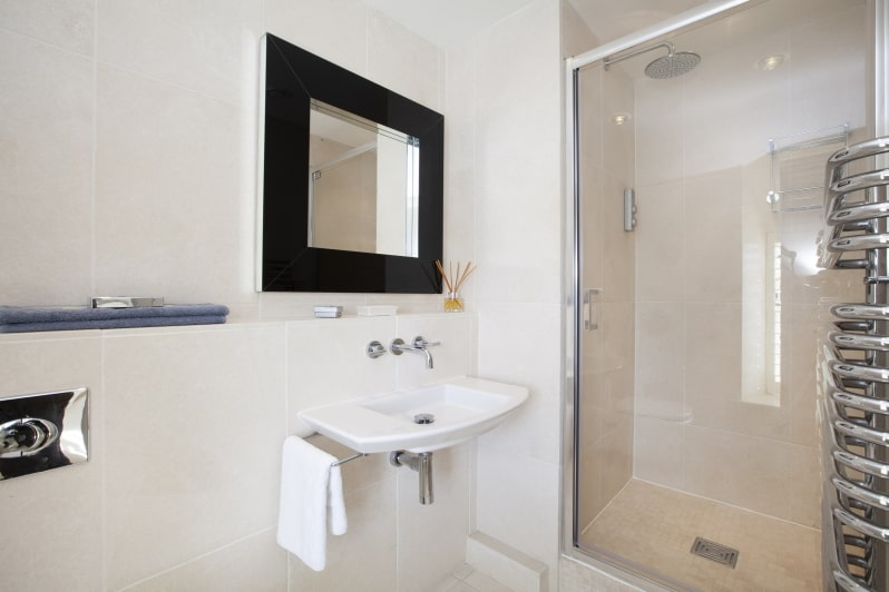 Bathrooms at Glenacres - Luxury Holiday Cottage in Seatown, Dorset