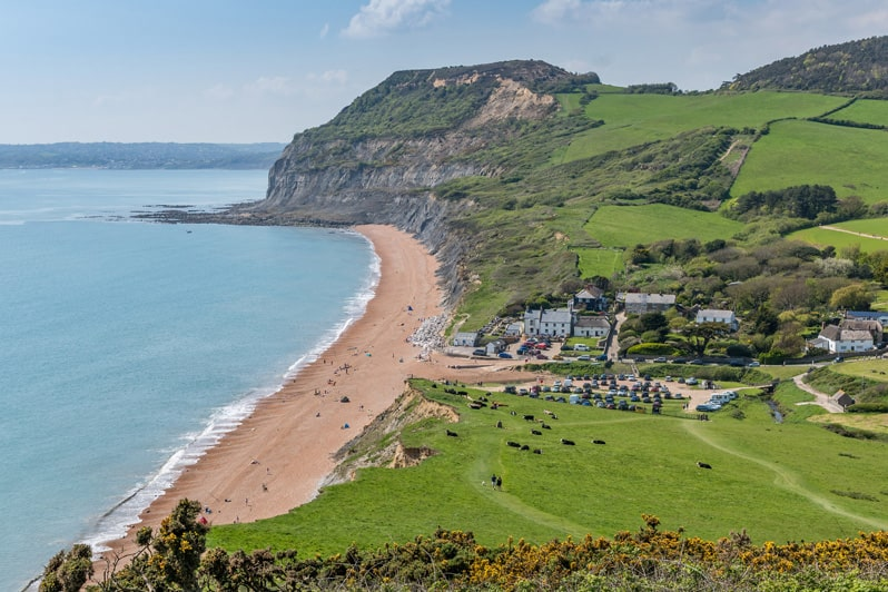 Outside & Local Area at Glenacres - Luxury Holiday Cottage in Seatown, Dorset